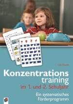 Konzentrationstraining im 1. und 2. Schuljahr Cover