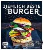 Ziemlich beste Burger - Beef-Klassiker, Pulled Chicken, Sushi-Style & mehr Cover