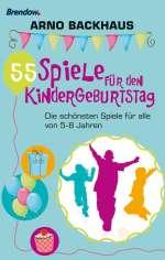 55 Spiele für den Kindergeburtstag Cover