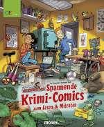 Spannende Krimi-Comics zum Lesen & Mitraten (Comic) Cover