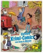 Clevere Krimi-Comics zum Lesen & Mitraten (Comic) Cover