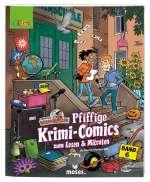Pfiffige Krimi-Comics zum Lesen & Mitraten Cover