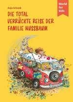 Die total verrückte Reise der Familie Nussbaum Cover