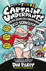 Captain Underpants und der Angriff der schnappenden Kloschüsseln Cover