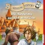 Drei Ratekrimis aus dem Mittelalter Cover