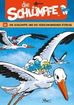 Die Schlümpfe und die verschwundenen Störche (Comic) Cover