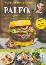 PALEO for Starters - Fit & schlank mit der modernen Steinzeitküche Cover