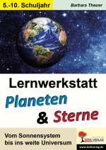 Lernwerkstatt - Planeten und Sterne Cover