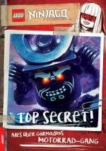 LEGO Ninjago, Masters of Spinjitzu - top secret! Cover