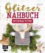 Glitzer-Nähbuch Weihnachten Cover