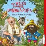 Der wilde Räuber Donnerpups - die Räuberprüfung Cover