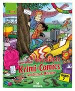 Verzwickte Krimi-Comics zum Lesen & Mitraten Cover
