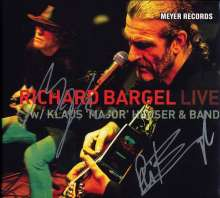 Richard Bargel: Live With Klaus 'Major' Heuser & Band (180g) - signiert, 2 LPs