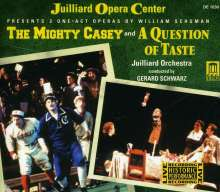 William Schuman (1910-1992): The Mighty Case (Operneinakter), 2 CDs