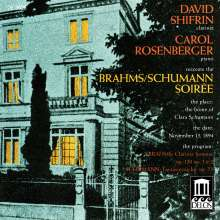 David Shifrin - Brahms/Schumann Soiree, CD