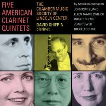 David Shifrin - Five American Clarinet Quintets, 2 CDs
