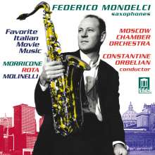 Favorite Italian Movie Music, CD