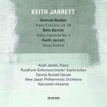 Keith Jarrett – Samuel Barber/Bela Bartok