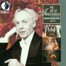 Jean Guillou - The Art of Improvisation, CD
