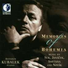 Antonin Kubalek - Memories of Bohemia, CD