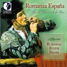 Burning River Brass - Romanza Espana, CD