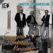 Mexican Romantic Quartets, CD