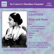 Dusolina Giannini - Arien & Duette, CD