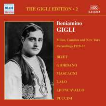 Benjamino Gigli- Edition Vol.2, CD