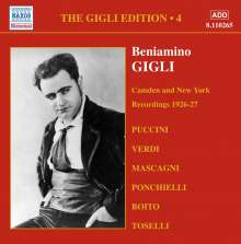 Benjamino Gigli- Edition Vol.4, CD