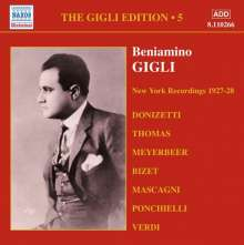 Benjamino Gigli- Edition Vol.5, CD