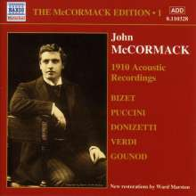 John McCormack-Edition Vol.1/The Acoustic Recordings 1910, CD