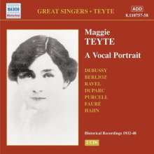 Maggie Teyte - A Vocal Portrait, 2 CDs