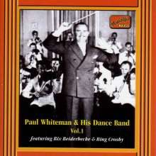 Paul Whiteman: Paul Whiteman & His Dance Band Vol.1, CD