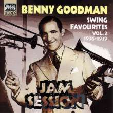 Benny Goodman (1909-1986): Jam Session - Swing Favourites Vol. 2 - 1936 - 1939, CD