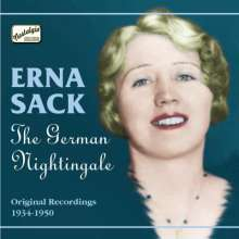 Erna Sack: The German Nightingale, CD