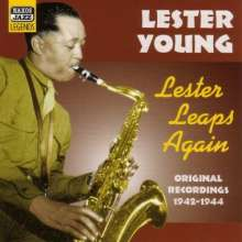 Lester Young (1909-1959): Lester Leaps Again, CD