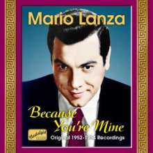 Mario Lanza: Because You're Mine, CD