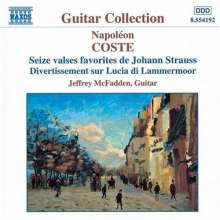 Napoleon Coste (1806-1883): Gitarrenwerke Vol.1, CD