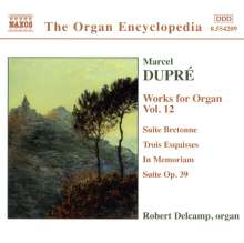 Marcel Dupre (1886-1971): Orgelwerke Vol.12, CD