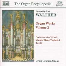 Johann Gottfried Walther (1684-1748): Orgelwerke Vol.2, CD