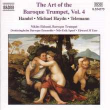 Niklas Eklund - Art of Baroque Trumpet 4, CD