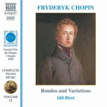 Frederic Chopin (1810-1849): Rondos opp.1,5,16,73, CD