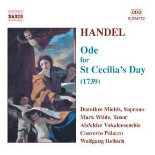 Georg Friedrich Händel (1685-1759): Ode for St.Cecilia's Day, CD