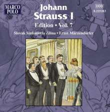 Johann Strauss I (1804-1849): Johann Strauss Edition Vol.7, CD