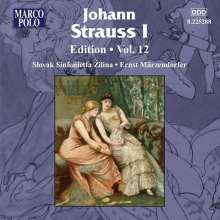 Johann Strauss I (1804-1849): Johann Strauss Edition Vol.12, CD