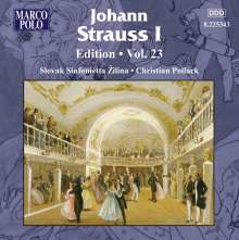 Johann Strauss I (1804-1849): Johann Strauss Edition Vol.23, CD