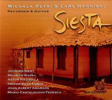 Michala Petri & Lars Hannibal - Siesta, CD