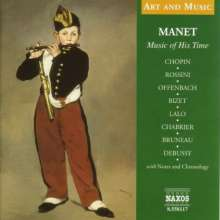 Edouard Manet - Music of His Time, CD