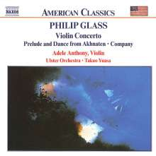 Glass / Anthony / Ulste: Violin Concerto / Prelude & Da, CD