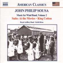 John Philip Sousa (1854-1932): Music for Wind Band Vol.2, CD